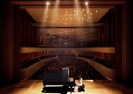 Miralles Tagliabue EMBT gana el concurso para el Conservatorio de Música de Shenzhen