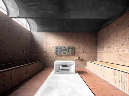 MoDusArchitects Recuperación y ampliación de la Accademia Cusanus Estructuras Superficies y Luz