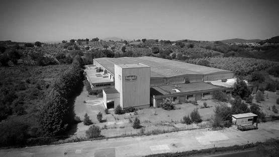 Progetto REb recupera una fábrica de pasta histórica para la sede de Talenti en Amelia