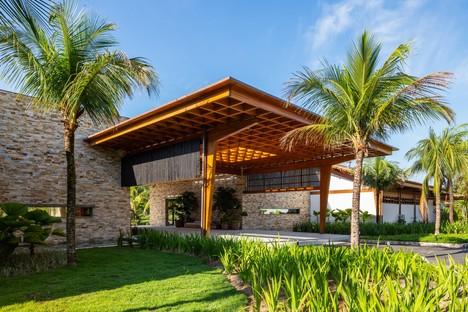 Reinach Mendonça Arquitetos Associados nueva entrada y nuevo club social Laranjeiras Condominium Río de Janeiro