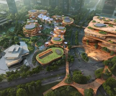 MVRDV se ha iniciado la construcción de las Shenzhen Terraces