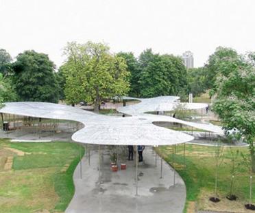 Serpentine Pavilion, Londres. Abierta al público la instalación de SANAA