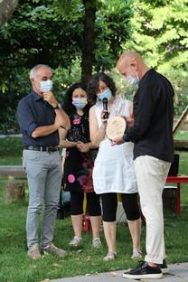La Fondazione Iris Ceramica Group dona un nuevo jardín a Casa Coccapani