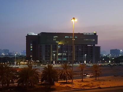 nEmoGruppo y los interiores de The National Abu Dabi
