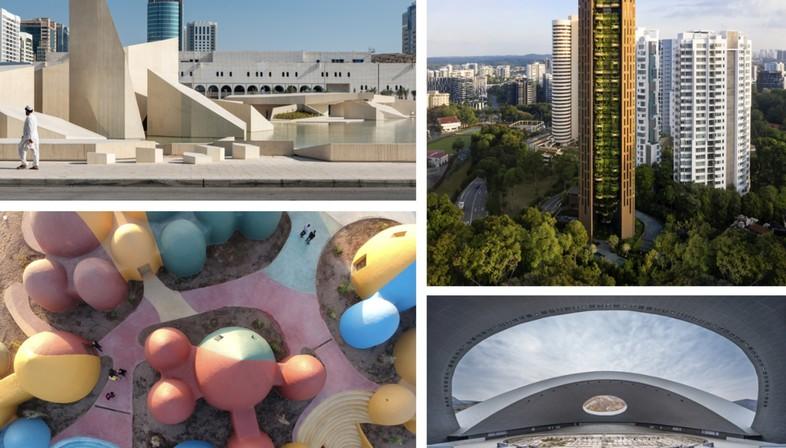 Los finalistas del World Building of the Year y del Landscape of the Year 2021