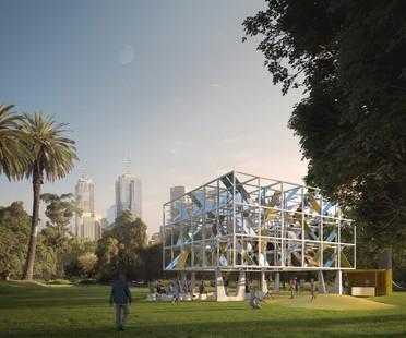 MAP Studio MPavilion 2021 un pabellón temporal para Melbourne