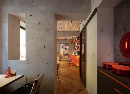 Vudafieri-Saverino Partners Interiorismo para Terrazza Aperol en Venecia