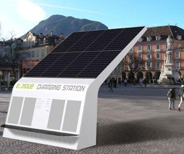 E-move charging station, Bolzano, MM Design
