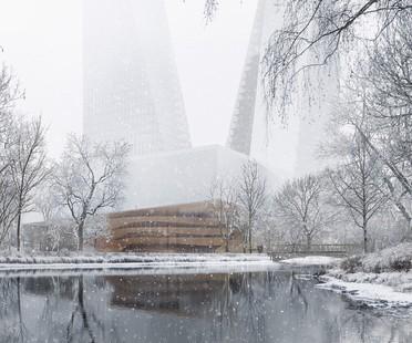 Snøhetta proyecta Duett Düsseldorf nuevo hub cultural para Düsseldorf