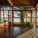 Atelier Pierre Thibault Una casa contemporánea a orillas del lago Brome