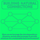 "Floornature único media partner del evento ""BUILDING NATURAL CONNECTIONS""."