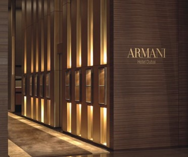 Giorgio Armani inaugura el Armani Hotel en Dubái