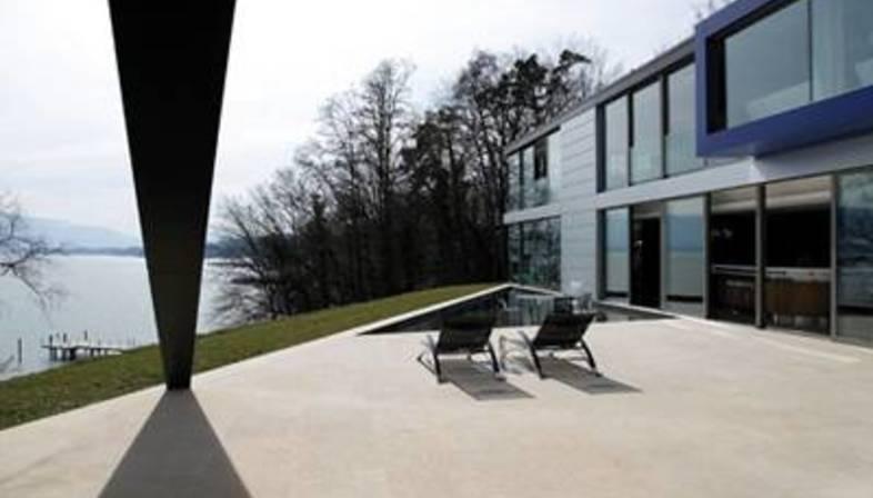 SAOTA – Arquitectura de texturas y materiales en el lago de Ginebra