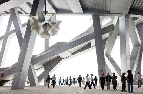 Herzog y de Meuron, Estadio Nacional de Pekín, China @ Iwan Baan