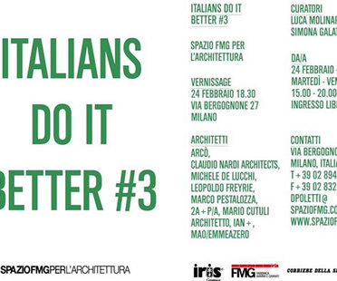 ITALIANS DO IT BETTER #3: La arquitectura italiana en el extranjero