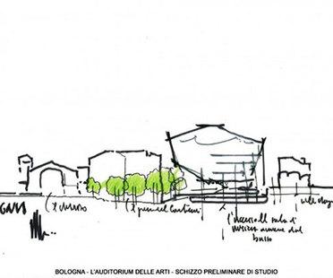 Renzo Piano presenta el auditorio de Bolonia
