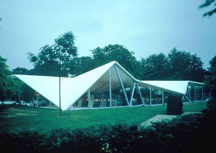 Serpentine Gallery Pavilion 2000 Designed by Zaha Hadid ph. Dafydd Jones