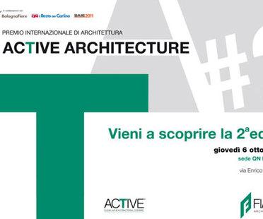 II EDICIÓN CONCURSO DE PREMIOS DE ARQUITECTURA ACTIVE ARCHITECTURE