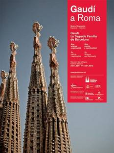 Exposición Gaudí en Roma