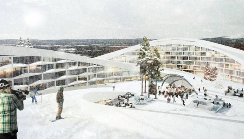 BIG gana un concurso en Laponia
