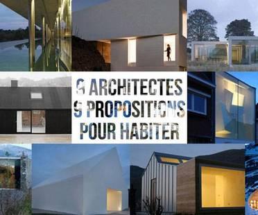 exposición 9 Architectes / 9 propositions pour habiter