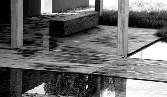 Architettura Matassoni, jardín y oficinas Bigi
