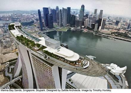 Moshe Safdie, Marina Bay Sands Hotel