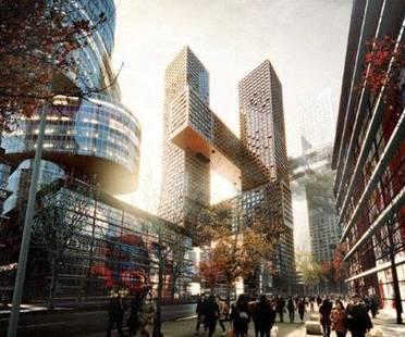 BIG, Cross # Towers, Seúl