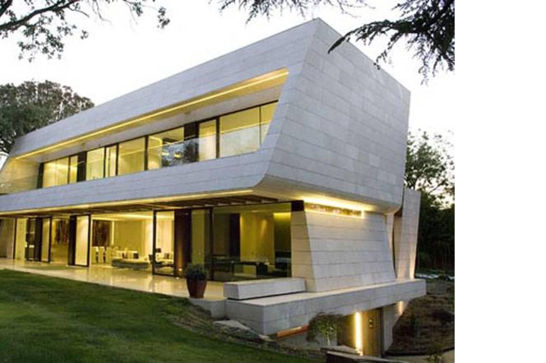 Acero residencia de marmol y bambu madrid floornature - Casa de bambu madrid ...