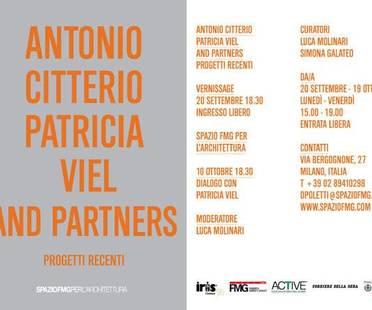 Muestra ANTONIO CITTERIO PATRICIA VIEL AND PARTNERS - PROYECTOS RECIENTES