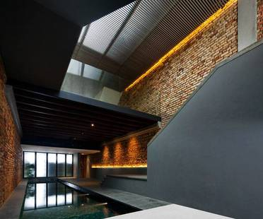 FARM + KD Architects, Pool Shophouse, Singapur