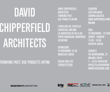 Muestra David Chipperfield Architects