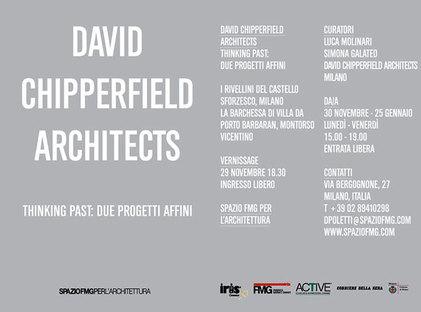 Muestra David Chipperfield Architects