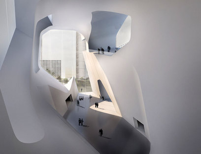 Steven Holl, Ecocity Ecology + Planning Museums, Tianjin