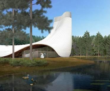 Brooks + Scarpa y KZF Design para Interfaith Chapel