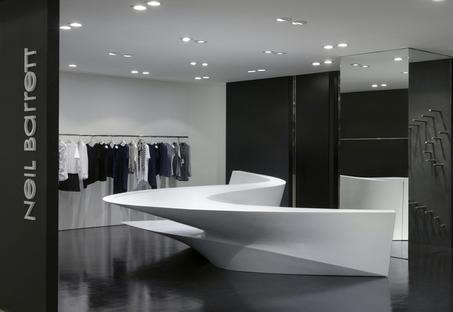 Zaha Hadid, Neil Barrett shop in shop Seúl