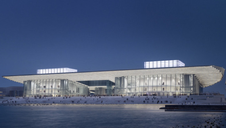 gmp Architekten, Tianjin Grand Theater, China