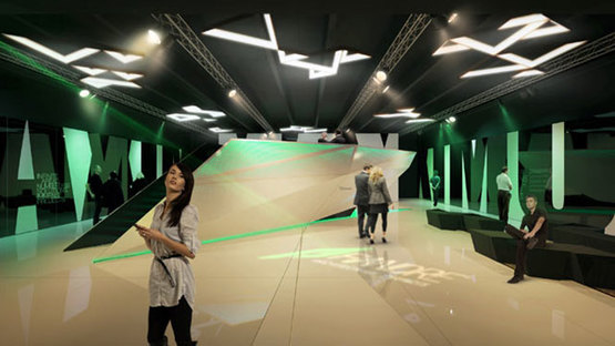 GranitiFiandre presenta la nueva sala de exposición dedicada a las losas Maximum