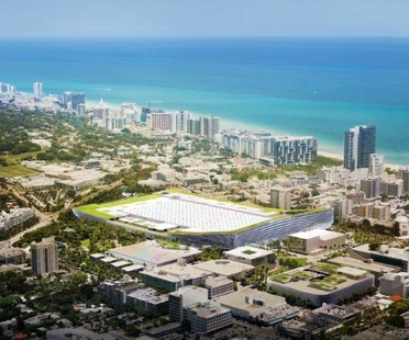 BIG, proyecto del Miami Beach Convention Center