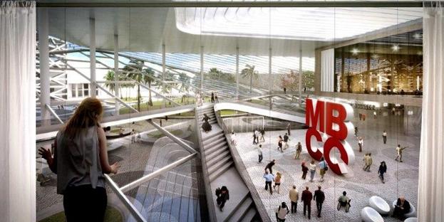 BIG, proyecto del Miami Beach Convention Center