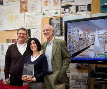 Elisa Dalla Vecchia, mención especial Premio Fundación Renzo Piano