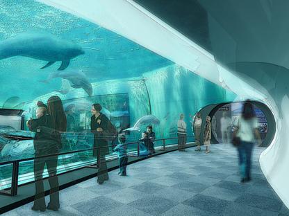 Renzo Piano, nuevo Pabellón de los Cetáceos en el Acuario de Génova