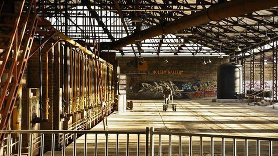 Exposición Next Landmark en el Spazio FMG de Milán