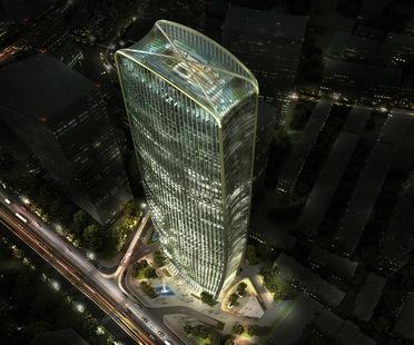 Henn gana el concurso para la Cenke Tower, Taiyuán, China