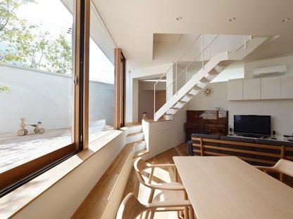 fujiwarramuro architects, edificio residencial en Minoh