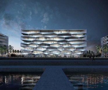 BIG: Honeycomb, edificio residencial en las Bahamas