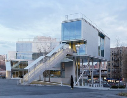 Steven Holl Architects - Campbell Sports Center - Columbia University