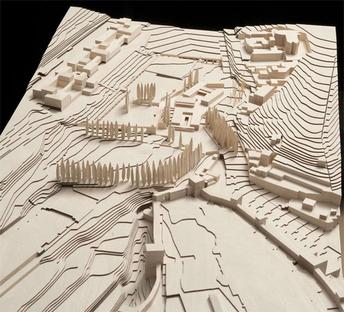 © Alvaro Siza Vieira + Juan Domingo Santos, Wood model by Álvaro Negrello