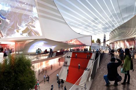 3XN Architects, IMAX DreamCenter - Shanghái