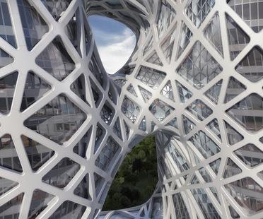 Zaha Hadid Architects: City of Dreams Hotel Tower Macau